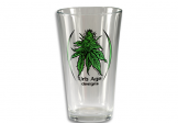 Pint Glass 2 Color (Flower)