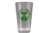 Pint glass (collegiate leaves)